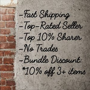 Other - Fast Shipping, Top Rated Seller, Top 10% Sharer!
